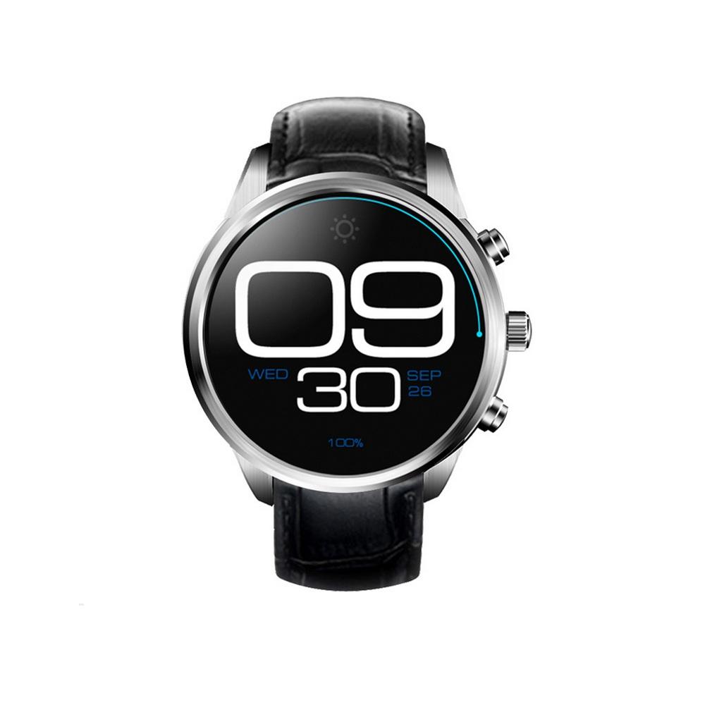 đồng hồ wifi dây da
