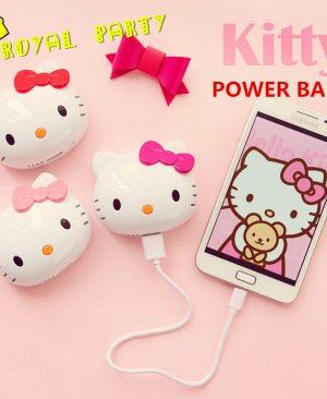 Sạc Dự Phòng Hello Kitty
