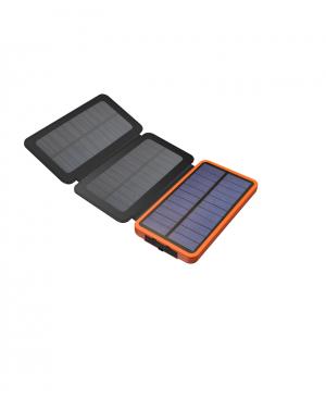 Sạc Dự Phòng năng lượng mặt trời 3 tấm pin LED Solar Powerbank