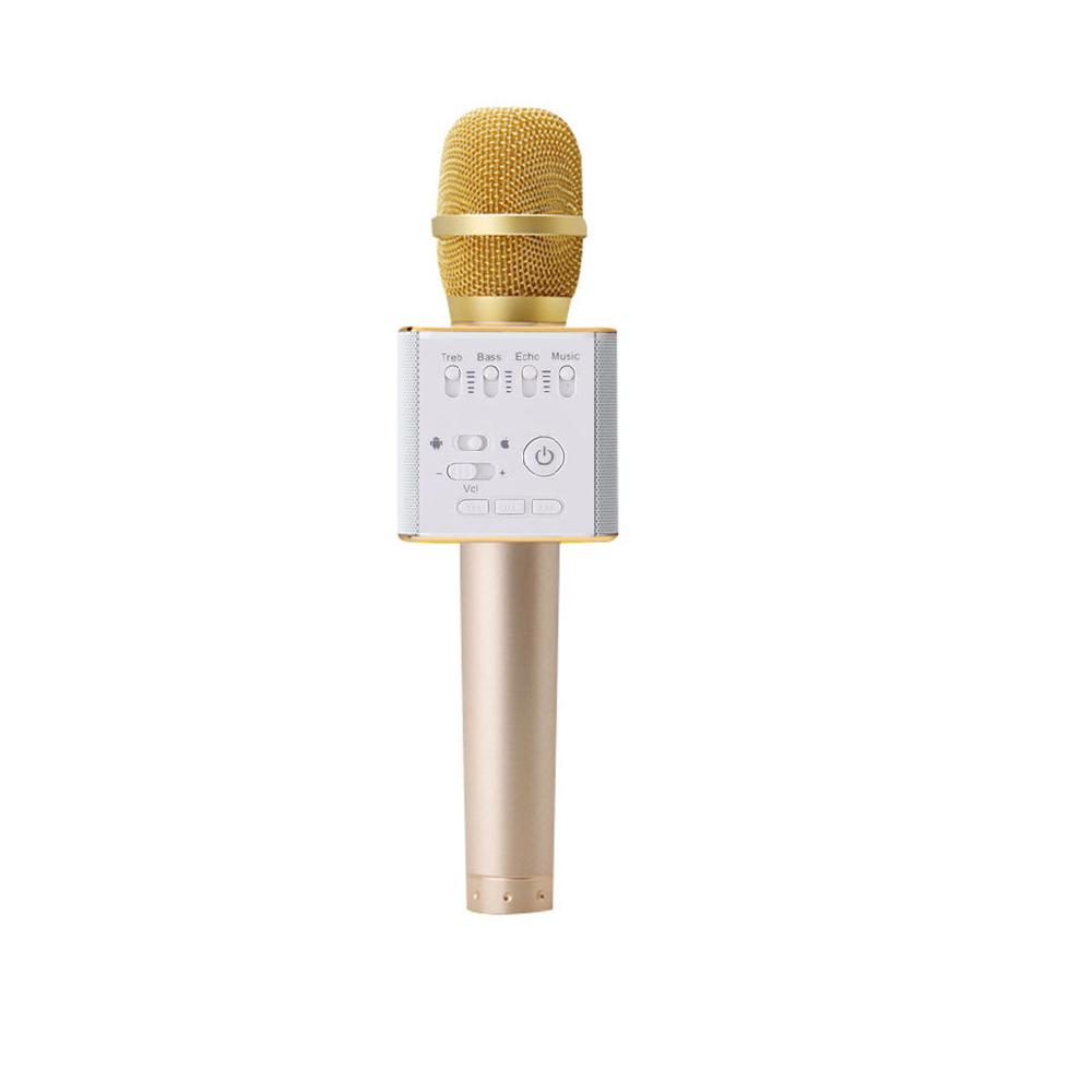 Micro karaoke không dây chuyên nghiệp  Bluetooth kiêm loa nghe nhạc Q9