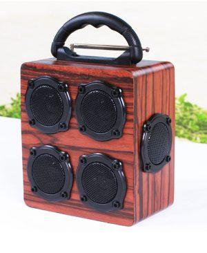 Loa gỗ Super Bass HIFI Stereo speaker PKCB-05