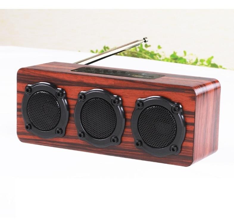 Loa gỗ Super Bass HIFI Stereo speaker PKCB-03