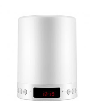 Loa Bluetooth Cao cấp hiển thị giờ kiêm đèn ngủ PKCB-66+